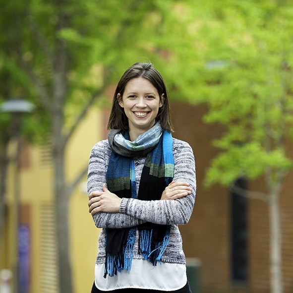 Law and Arts student, Philippa Jones