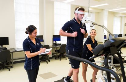 Undertaking a Vo2 Max Test