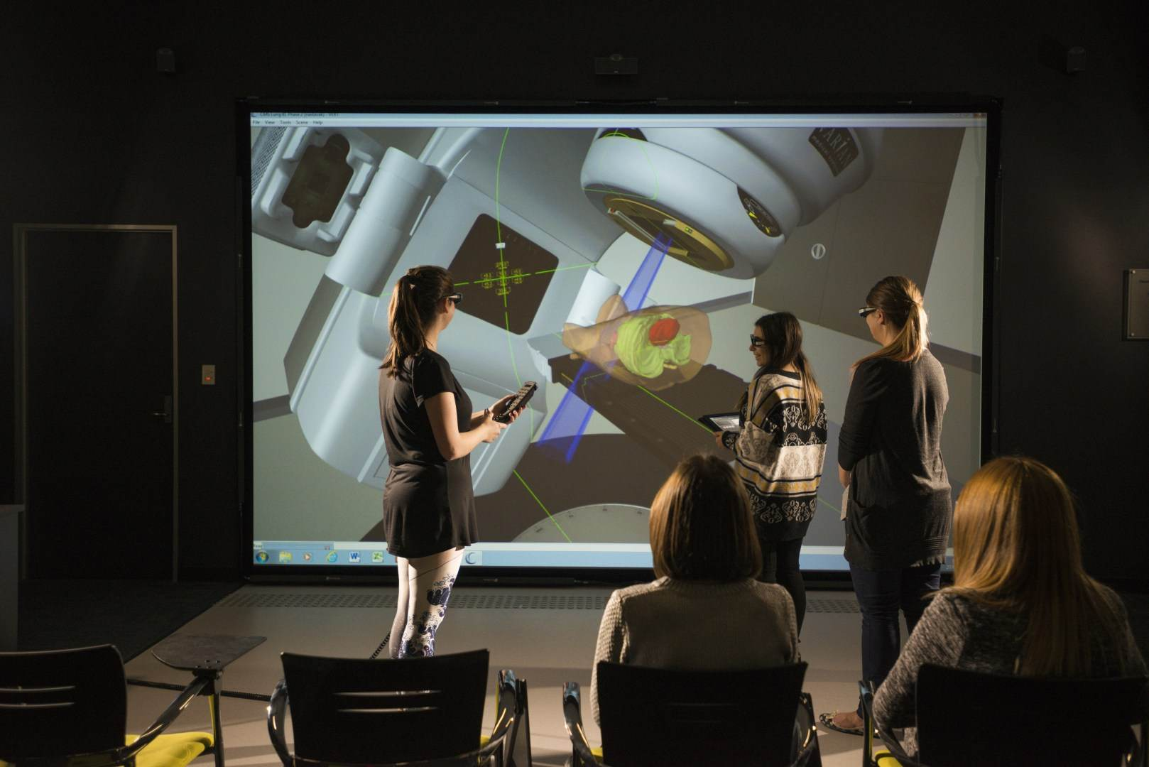 Students in VERT _Virtual Environment Radiation Therapy_ facility.jpg