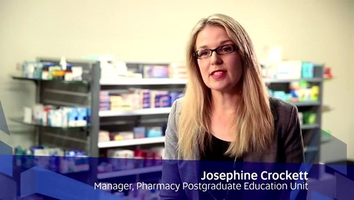 Study Graduate Certificate in Pharmacy Practice at the